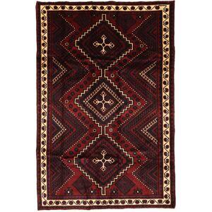 RugVista 170X260 Orientalsk Teppe Håndknyttet Persisk Ull Mørk Brun/Mørk Rød