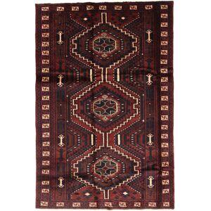 RugVista 171X259 Persisk Teppe Håndknyttet Orientalsk Ull Mørk Rød/Brun