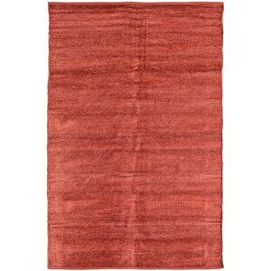 RugVista Kelim Chenille - Coppery_ Teppe 120X180 Ekte Orientalsk Håndvevd Rust/Mørk Rød ( India)