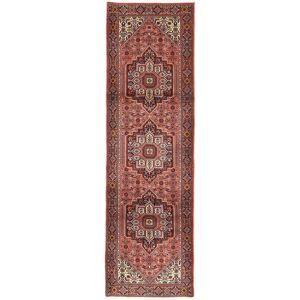 Håndknyttet. Opphav: Persia / Iran Persisk Gholtogh Teppe 85X292 Teppeløpere Brun/Mørk Brun (Ull, Persia/Iran)