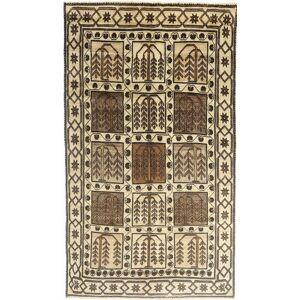 RugVista 152X290 Orientalsk Teppe Håndknyttet Persisk Ull Lysbrun/Mørk Brun/Beige