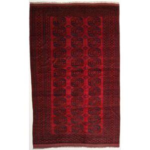 RugVista 276X433 Orientalsk Afghan Khal Mohammadi Teppe Mørk Rød/Mørk Brun Stort (Ull, Afghanistan)