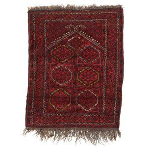 RugVista 72X90 Afghan Khal Mohammadi Teppe Ekte Orientalsk Håndknyttet Mørk Rød/Brun (Ull, Afghanistan)