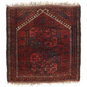 RugVista 85X88 Orientalsk Afghan Khal Mohammadi Teppe Kvadratisk Mørk Rød/Mørk Brun (Ull, Afghanistan)