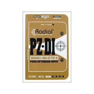 Radial PZ-DI * *Kunderetur