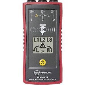 Beha Amprobe PRM-6-EUR KIT roterende EMF-indikator CAT IV 600 V LCD