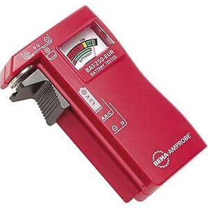 Beha Amprobe batteri tester BAT-250-EUR lesing utvalg (batteri testere) 1,5 V, 9 V-batteriet 4620297