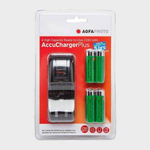 AGFA New AgfaPhoto Accu Charger Plus Red One Size