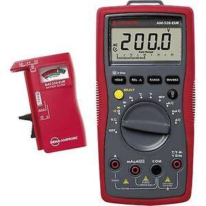 Beha Amprobe AM-520-EUR håndholdt multimeter Digital CAT III 600 V
