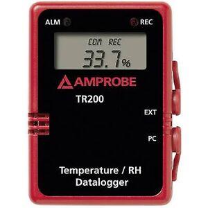 Beha Amprobe TR-200A data logger med flere kanaler måleenhet temperatur, fuktighet-40 opp til 85 ° c 0 opp til 100 RH