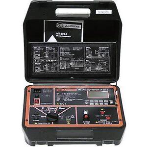 Beha Amprobe 9085MT 204-S tester DIN VDE 0411-1, IEC/EN 61010-1, DIN VDE 0413/no 61557 maskindeler 2,3, 4