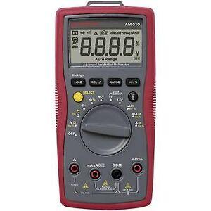 Beha Amprobe AM-510-EUR håndholdt multimeter Digital CAT III 600 V skjerm (teller): 4000