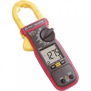 Beha Amprobe AMP-220-EUR klemme meter, håndholdt multimeter Digital CAT III 600 V skjerm (teller): 6000