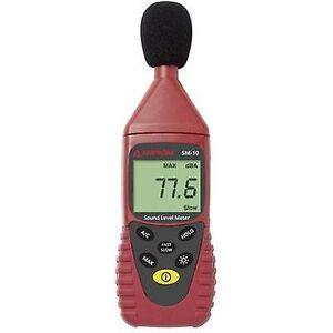 Beha Amprobe lydnivåmåler data logger SM-10 30-130 dB 31,5 Hz-8 kHz