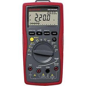 Beha Amprobe AM-540-EUR håndholdt multimeter Digital CAT III 1000 V, CAT IV 600 V skjerm (teller): 6000