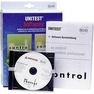 Beha Amprobe 2390081 es-kontroll 0701-0702/0113 Programvare PROGRAMVARE ES Control (uten grensesnittadapter) 1 stk.))-programvare ES Control (uten ...