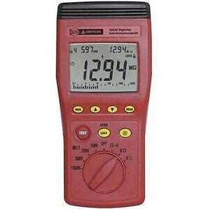 Beha Amprobe 93530-D isolasjon tester 100 V, 250 V, 500 V, 1000 V 1 MΩ