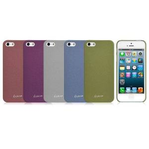 LUXA SANDSTONE BLUE ULTRA THIN CASE FOR IPHONE 5 ACCS