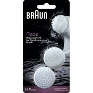 Braun 89 Face Replacement Cleansing Brush 2 stk