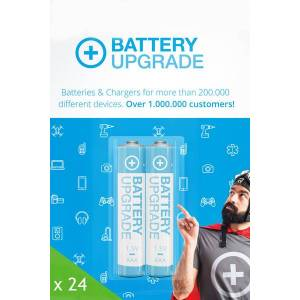 Disposable BatteryUpgrade 24x AAA batteri