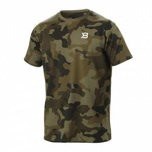 Better Bodies Harlem oversize tee - Military Camo