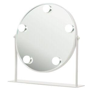 Shela`s Shelas 5 Led Hollywood Mirror Round White