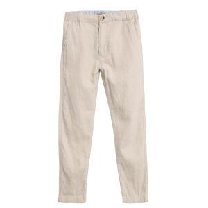 Wheat bukse i lin til barn, sand