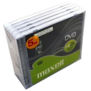 DVD+R 8.5GB DoubleLayer 5-pack