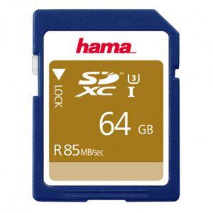 Minneskort SDXC 64GB 85MB/s Class 3