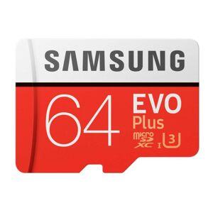 Samsung MICRO SDXC EVO PLUS 64GB CLASS 10 W/SD-ADAPTER
