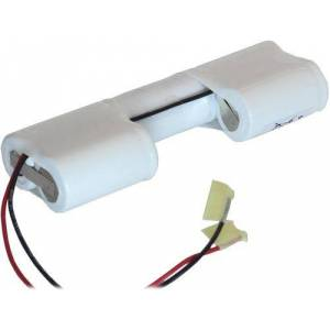 Laddningsbara batterier 160SCKT5X6H, 6.0V, 1600 mAh