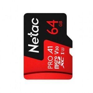 Netac MicroSDXC 64GB minneskort UHS-3