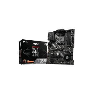 MSI X570-A PRO - Hovedkort - ATX - Socket AM4 - AMD X570 - USB-C Gen2, USB 3.2 Gen 1, USB 3.2 Gen 2 - Gigabit LAN - innbygd grafikk (CPU kreves) - HD-lyd (8-kanalers)