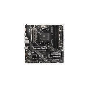 MSI MAG B550M BAZOOKA - Hovedkort - mikro ATX - Socket AM4 - AMD B550 - USB-C Gen1, USB 3.2 Gen 1 - Gigabit LAN - innbygd grafikk (CPU kreves) - HD-lyd (8-kanalers)