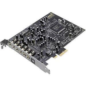 Creative Sound Blaster SoundBlaster Audigy RX 7,1 lydkort, intern PCIe X1 digital utgang, eksterne hodetelefonkontakter
