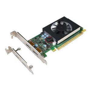 Lenovo NVIDIA GeForce GT730 - Grafikkort - GF GT 730 - 2 GB GDDR5 - PCIe 2.0 x8 lav profil - DisplayPort - for ThinkCentre M710e; M710s; M710t; M715s; M715t; M720s; M720t; M910s; M910t; M920s; M920t