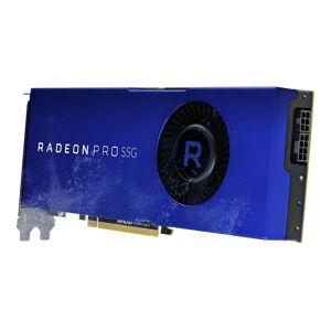AMD Radeon Pro SSG - Grafikkort - Radeon Pro SSG - 16 GB HBM2 + 2 TB SSG - PCIe 3.0 x16 - 6 x Mini DisplayPort