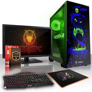 Fierce PC Hård KALKONTUPP Gaming PC, snabb Intel Core i5 8600 K 4.5...