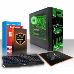 Fierce PC Hård exil Gaming PC, snabb AMD FX-8350 4.2 GHz, 1 TB HDD,...