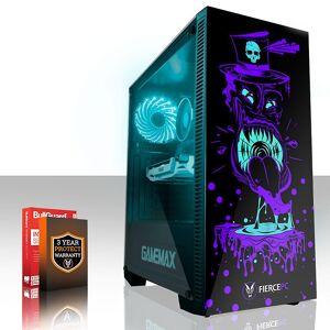Fierce PC Hård KALKONTUPP Gaming PC, snabb Intel Core i7 7700 4.2 GHz, 2 TB H...
