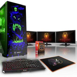 Fierce PC Hård KALKONTUPP Gaming PC, Intel Core i7 8700 K 4.5 GHz, ...