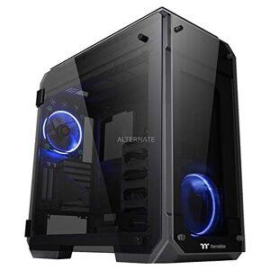 CA-1I7-00F1WN-00 Thermaltake Visa 71 TG (härdat glas) PC-fodral, svart/blå