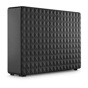 STEB10000400 Seagate Expansion Desktop, Extern desktop Hårddisk 10 TB, USB 3.0, Notebook, PC, Mac, Xbox, PS4, Svart (STEB10000402)