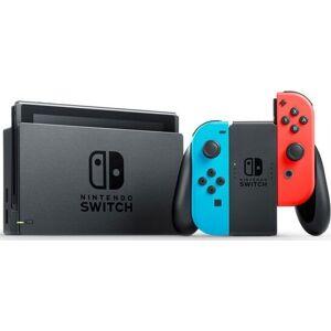 Nintendo Switch - 32 Gb Spillekonsol Med Blå Rød Joy-con