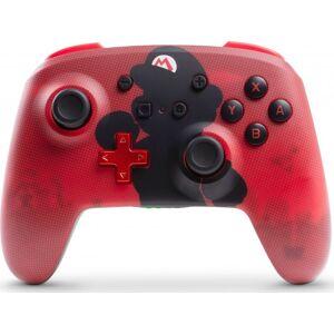 Powera - Enhanced - Trådløs Controller Til Nintendo Switch - Mario Silhouette