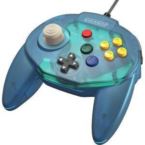 Retro-bit - Tribute 64 - Gamepad Controller Med Usb Til Nintendo 64 - Blå