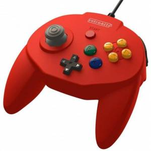 Retro-bit - Tribute 64 - Gamepad Controller Med Usb Til Nintendo 64 - Rød