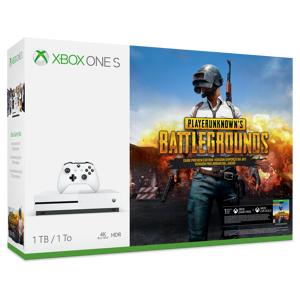 Microsoft 1TB Xbox One S-konsoll – PLAYERUNKNOWN'S BATTLEGROUNDS-pakke