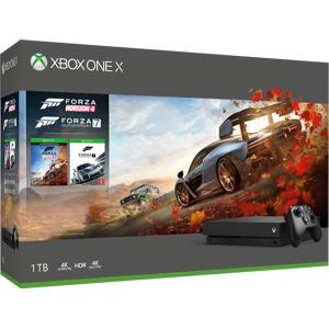 Microsoft Xbox One X konsoll på 1 TB – Forza Horizon 4-pakke