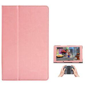 Nintendo Switch Case - Skinn Deksel Pink
